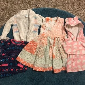 Toddler Girl Lot 5 pieces